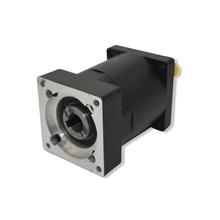 Planetary Gearbox  Ratio 4:1  for 200W 400W 600W Servo Motor Nema24 60mm  Speed Reducer Shaft 14mm Carbon Steel Gear