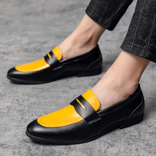 Shoes Slip On Business Breathable Men Casual Boat Big Loafers Size38--48 Man's