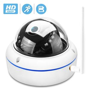 Image 1 - HD1080P Vandal proof IP Camera WiFi SD Card Slot 64Gb Motion Ai Detect Alert Dome 2MP Audio Security CCTV Camera ONVIF P2P ICSee