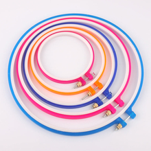 MIUSIE Plastic Frame Embroidery Hoop Ring 3Inch to 10Inch DIY Needle craft