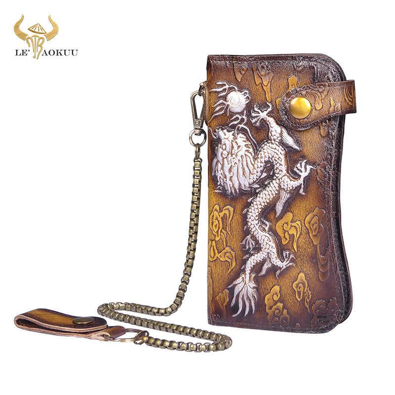 Dragon en cuir unisexe Clé Sac étui Minibörse en Cuir Rose 8,5x12x1cm opr800p