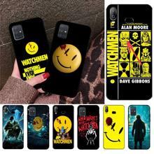 HPCHCJHM Watchmen poster Black TPU Soft Phone Case Cover For Samsung A10 A20 A30 A40 A50 A70 A80 A71 A91 A51 A6 A8 2018 сумка printio хранители watchmen