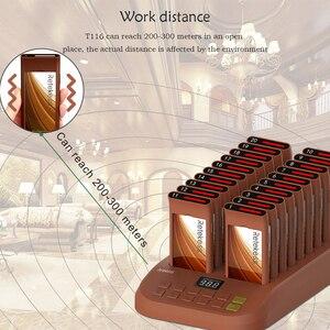 Image 2 - Retekess T116 ресторанный пейджер с 20 приемниками пейджера Макс 998 шт для кафе клиника ресторан Беспроводная система пейджинга
