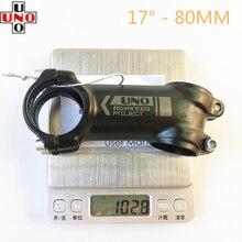 Ультра-светильник для руля горного велосипеда MTB дорожный руля 7/17 градусов велосипедный стержень 60-130 мм