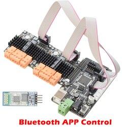 Bluetooth APP контроллер 9-24 В 2/4 канала высокая мощность DC Мотор привод комплект ШИМ регулировка скорости с Arduino плата умный автомобиль