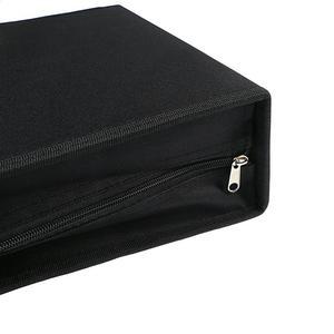 Image 4 - 1pc 320 디스크 CD 지갑 PU 가죽 휴대용 방진 대용량 CD 바인더 CD 케이스 CD 스토리지 홀더 DVD 홀더