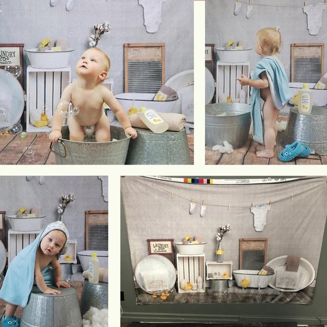 خلفية لغرف الحلاقة للأطفال ، عيد الميلاد الأول ، استحمام الطفل ، صورة كعكة تحطيم التصوير ، خلفية البط ، الأرض الخشبية ، استوديو الصور