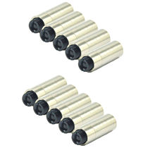 10шт фокусируемый 12x30 мм металл корпус линза для 3,8 мм TO-38 лазер диод LD