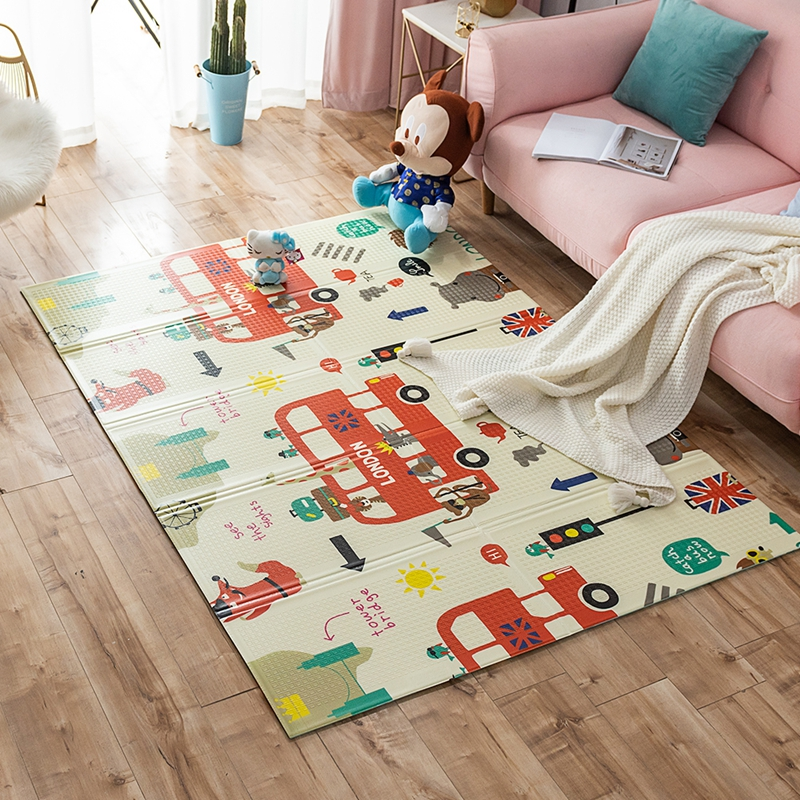 XPE Soft Playmat Baby Crawling Mat Foldable Crawling Mat Foam Puzzle Kids Floor Carpet Children Rug Thickened Pad For Baby Room