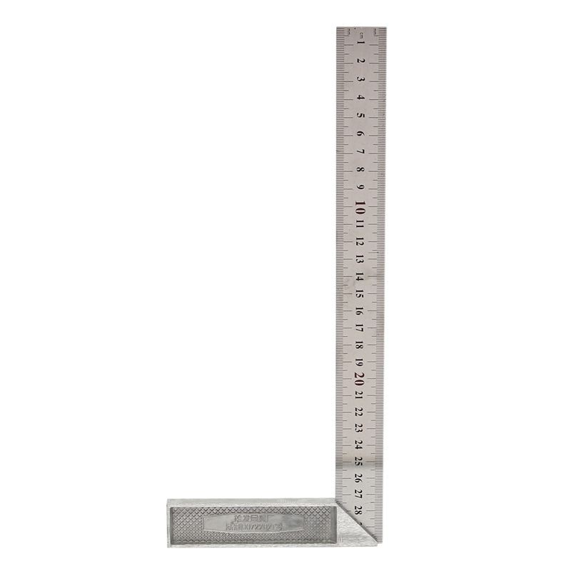 30cm/12 inch Metal Engineers Try Square Set Measurement Tool Right Angle 90 Degrees