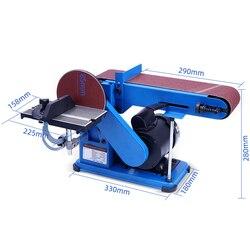 Automatyczne Usuwanie pyłu maszyna taśmowa do ostrzenia do obróbki drewna szlifierka stołowa