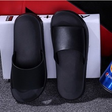 Summer Women Slides Thick Soled Slippers Slip On Sandals Black White Shoes Flip Flops Zapatillas Mujer Whoholl