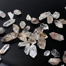 10g/20g/30g herkimer natural diamante cristal de quartzo ponto cura minerais espécime jóias que faz o presente