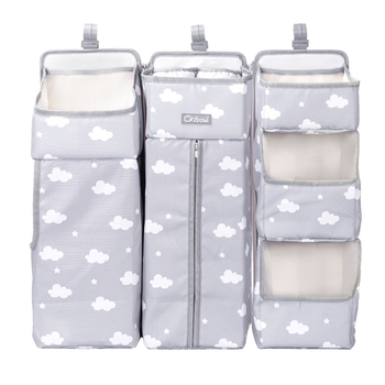 Orzbow Baby Bed Organizer Hanging Bags For Newborn Crib Diaper Storage Bags Baby Care Organizer Infant Bedding Nursing Bags 8
