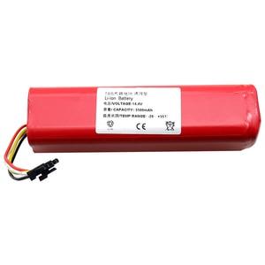 Image 5 - li ion 18650 battery for XIAOMI ROBOROCK Vacuum Cleaner S50 S51 T4 T6 mi robot Vacuum Cleaner accessories
