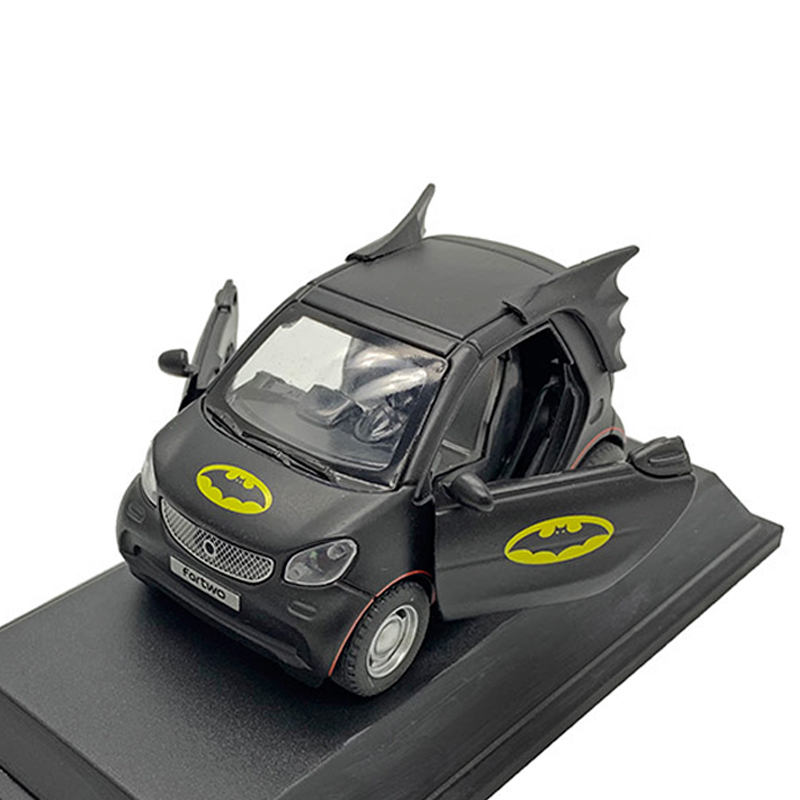 Toy Vehicles Diecast Model Cars-Toy For Children Metal Cars For Brithday Decoration Smart Fortwo