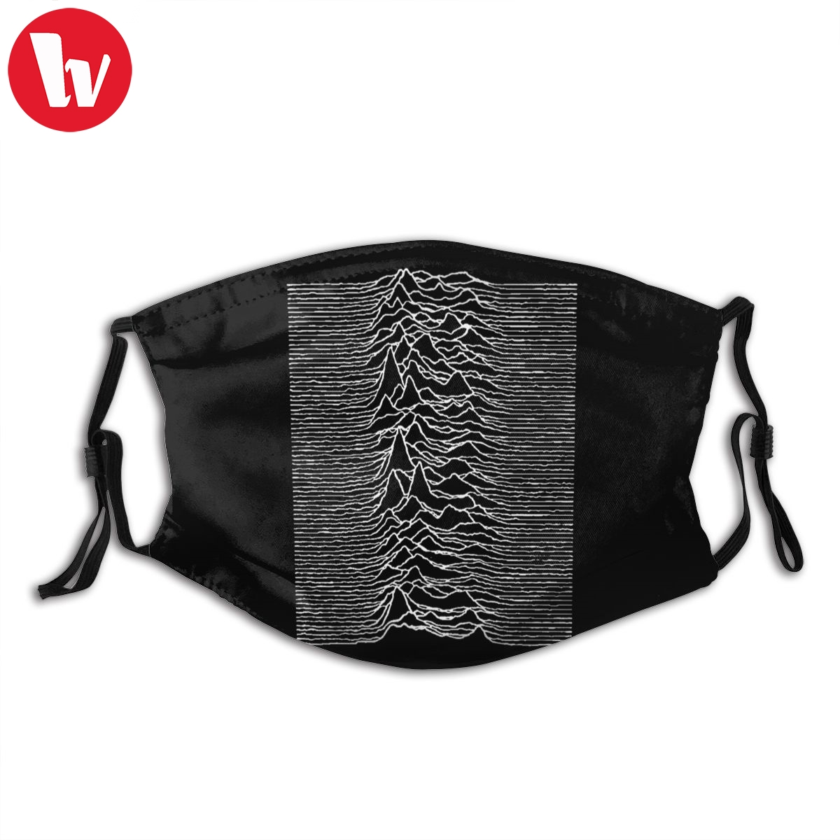 Joy Division Mouth Face Mask Unknown Pleasures Joy Division Facial Mask Funny Kawai With 2 Filters For Adult