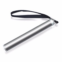 Stainless Steel Mini Penlight Waterproof LED Flashlight Batt