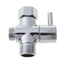Handheld Bidet Sprayer Adjustable ABS Spayer & Brass T-Adaptor for Bathroom HX6D