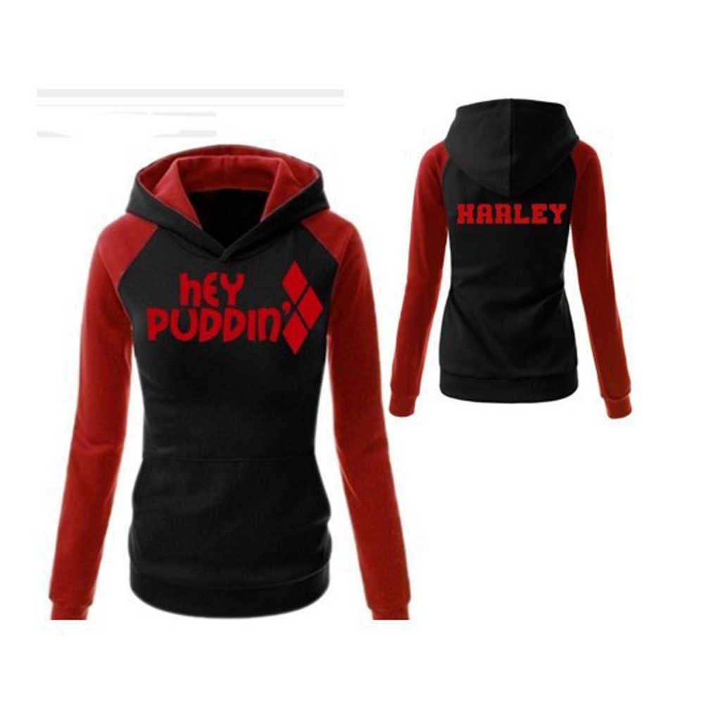 Hot Koop! Suicide Squad Harley Quinn Cosplay Kostuums Hoodies Sweatshirts T-shirt Top Joggers Broek Sport Gym Broek Trainingspak