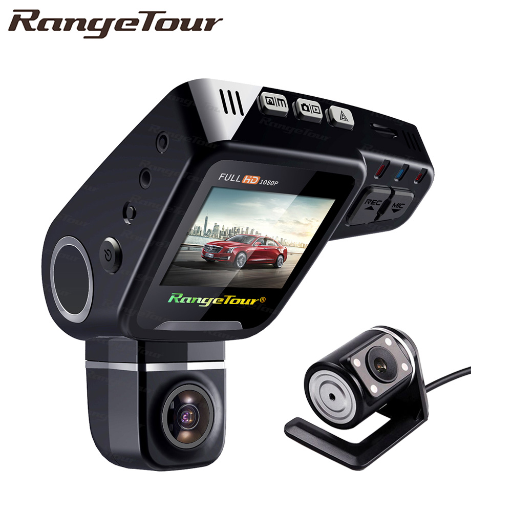 Car DVR Video-Recorder Dash-Cam Registrator-Night-Vision Dual-Lens 360-Degree C10s-Plus