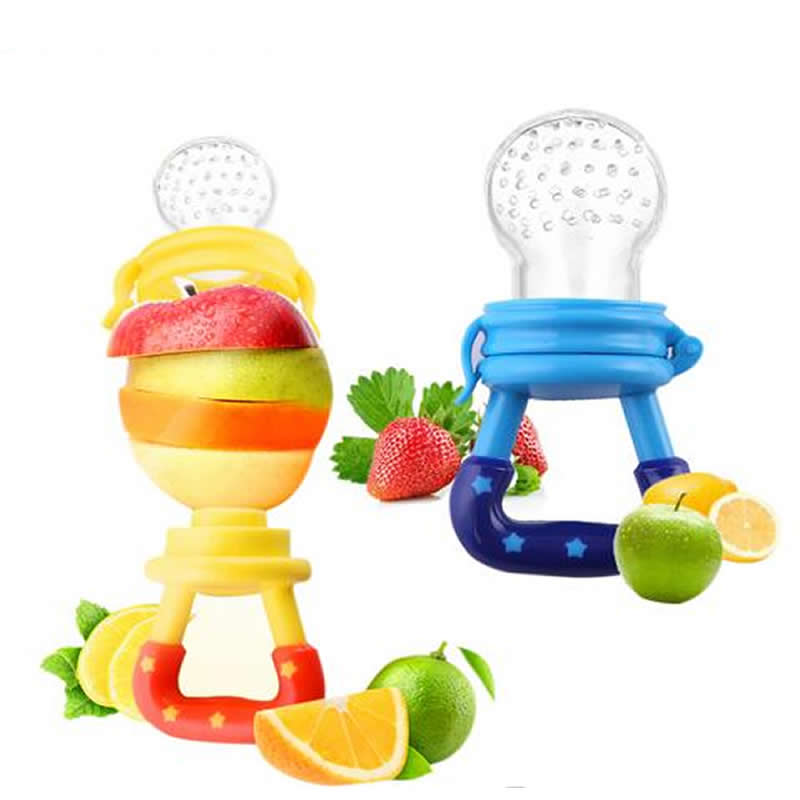 Baby Pacifiter Fruit Vegetable Feeder Baby Food Supplement Trainer Baby Pacifier Toddler Feeding Nipple Soother