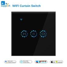EWeLink WiFi intelligent rideau aveugle interrupteur pour volet roulant moteur électrique Google Home Alexa écho commande vocale bricolage maison intelligente