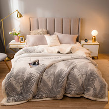 Super Warm Blanket Luxury Thick Blankets For Beds Fleece Blankets and Throws Winter Adult Bed Cover