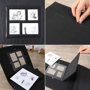 Image 3 - Álbum de fotos para 400 bolsillos, 4x6 fotos, cubierta de cuero, Extra grande, capacidad para boda familiar, aniversario, vacaciones de bebé