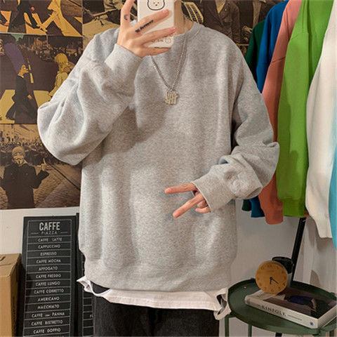 Hea41df7bcedb43eb90d19571a14c3ab75 loose Korean style plus size sweatshirt winter clothes streetwear women 2020 new fashion plus velvet oversize harajuku hoodie