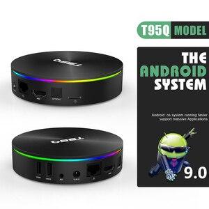 Image 3 - T95Q الروبوت 9.0 التلفزيون مربع 4GB 32GB Amlogic S905X2 رباعية النواة 2.4/5.8G Wifi BT4.1 100M 4K مشغل الوسائط 4GB64GB ريسيفر لتليفزيونات أندرويد الذكيّة