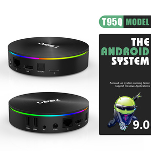 Image 3 - ТВ приставка T95Q Android 9,0 4 ГБ 32 ГБ четырехъядерный процессор Amlogic S905X2 2,4/5,8G Wifi BT4.1 100 м 4K медиаплеер 4GB64GB Android Smart Tv Box
