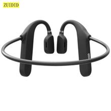 Md04 fone de ouvido estéreo sem fio condução óssea fone bluetooth 5.0 redução ruído esporte música fones à prova dwaterproof água