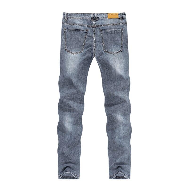 KSTUN New Arrivals Mens Jeans Brand Slim Straight Regular Fit  Stretch 2020 Summer Denim Pants Jeans Men Vintage Cowboys Top Quality 12