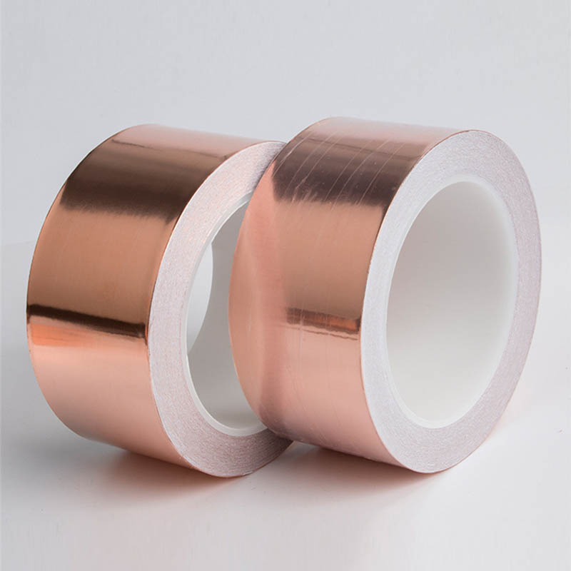 30 Meters Single Side Conductive Copper Foil Tape Strip Adhesive Resist Tape ZJP