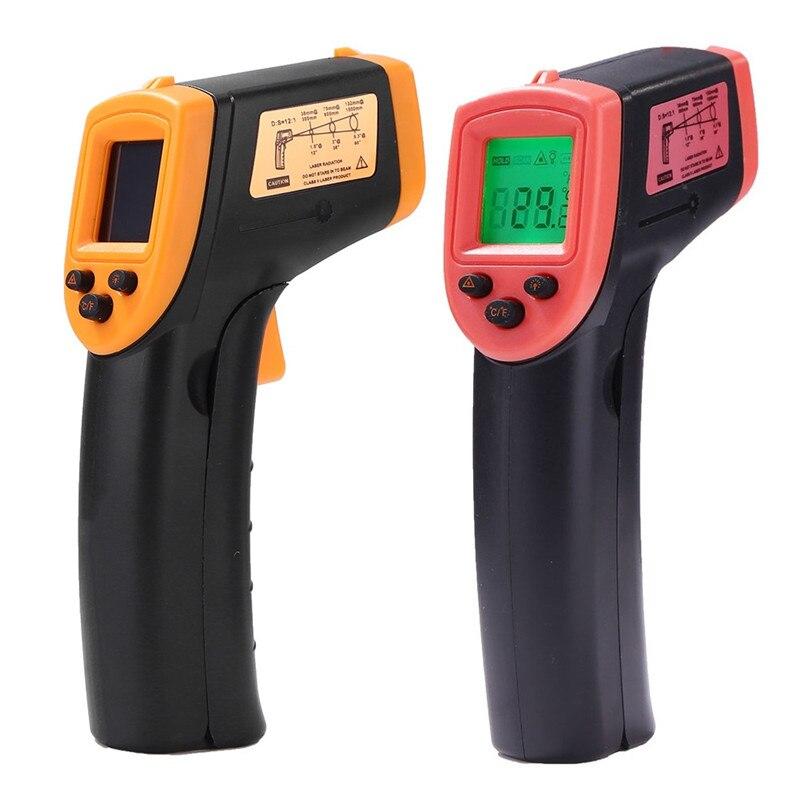Цифровой инфракрасный термометр Лазерный измеритель температуры Бесконтактный пирометр инфракрасный измеритель с 50 C или 600 ( 58 F до 1122 F)|Приборы для измерения температуры|   | АлиЭкспресс