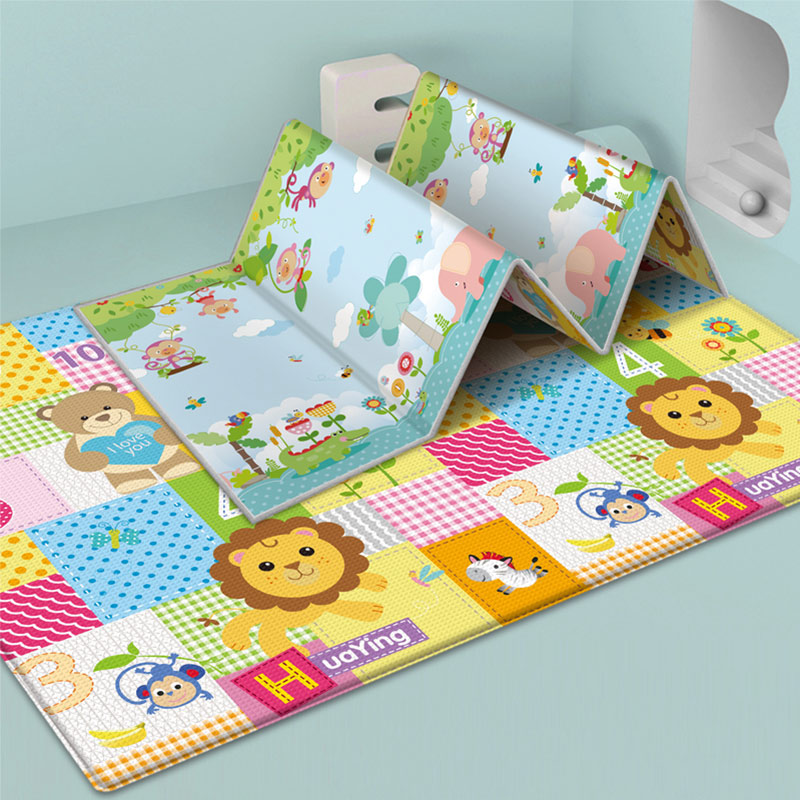 Baby Play Mat Xpe Puzzle Children's Mat Thickened Tapete Infantil Baby Room Crawling Pad Folding Mat Baby Carpet Kids Rug