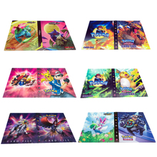 Book-Top Album-Toy Collection-Game Pokemones-Cards 240pcs-Holder Gift Anime Kids Cartoon