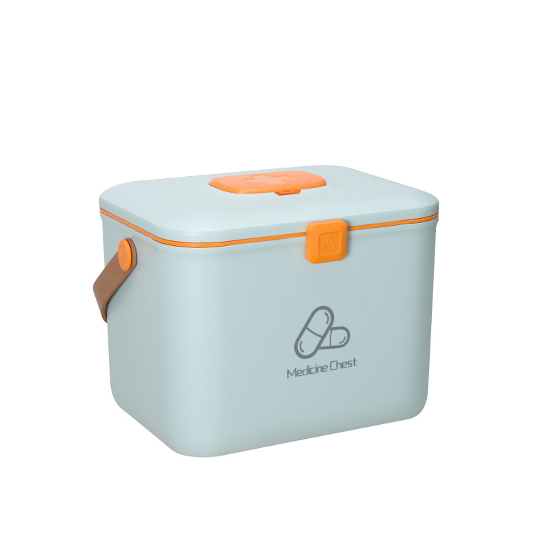 Medicine Storage Box Home First Aid Kit Plastic Medical Kit Holder Emergency First Aid Kit Family Outdoor Emergency Survival Kit