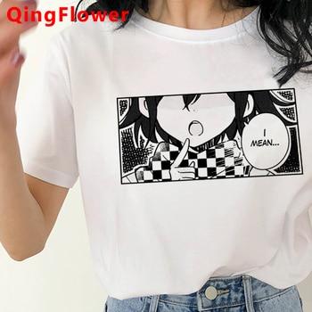 Harajuku 90s Ouma Kokichi T Shirt Danganronpa Kawaii Funny T-shirt Cute Anime Danganronpa V3 Women Tshirt Tee Harajuku Female 1