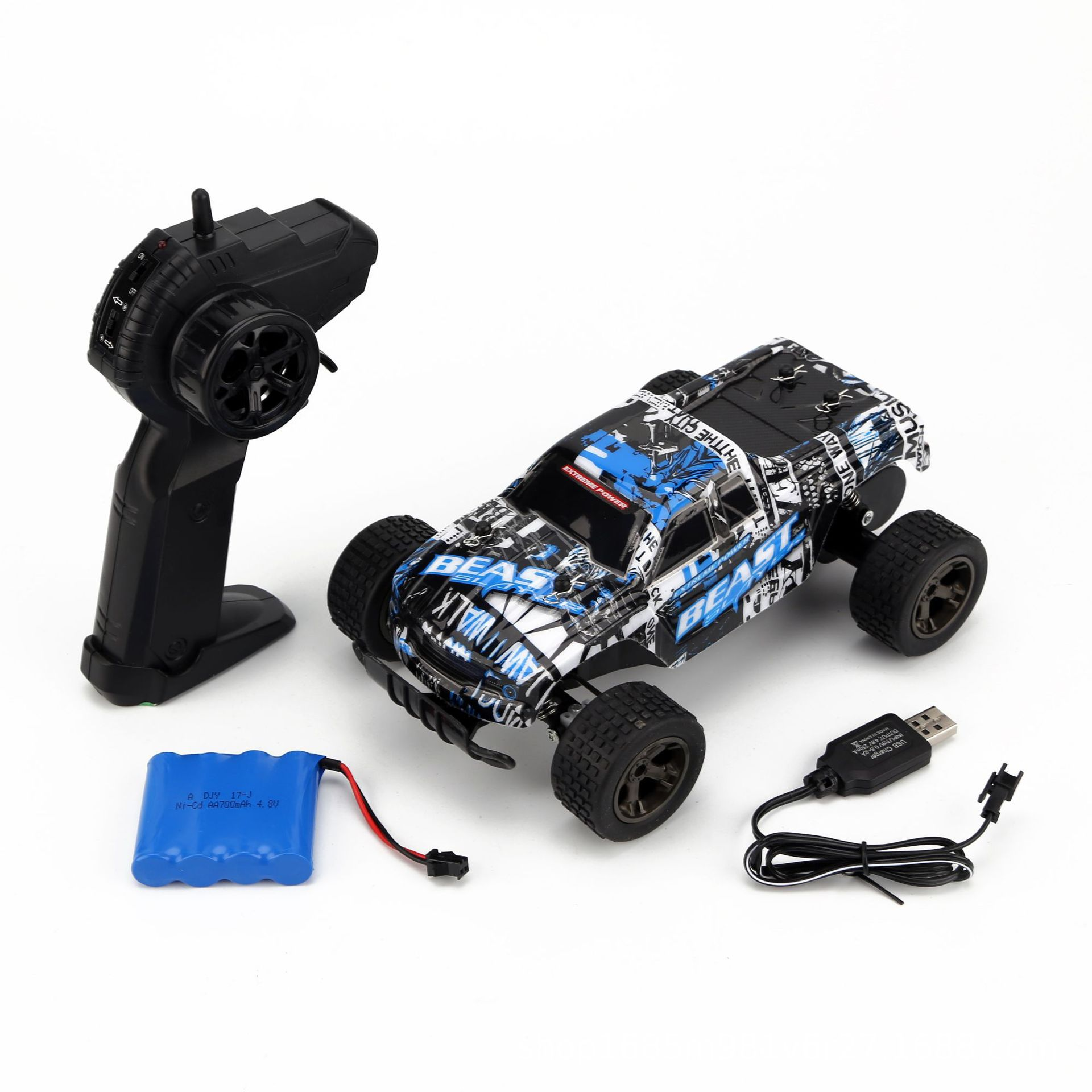 1:20 High Speed Racing 2.4g 2wd Tracked Remote Control Model Off-road Toy Radio-controlled Remote Control Off-road Vehicle Toy