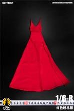 В наличии 1/6 весы TYM067 пикантные женской фигуры аксессуар вечернее платье красная юбка одежда для 12''Action рисунок средства ухода за кожей