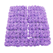 12/36/72 / 144pc melsnajsd 2cm  artificial flower foam rose fake family wedding party decoration