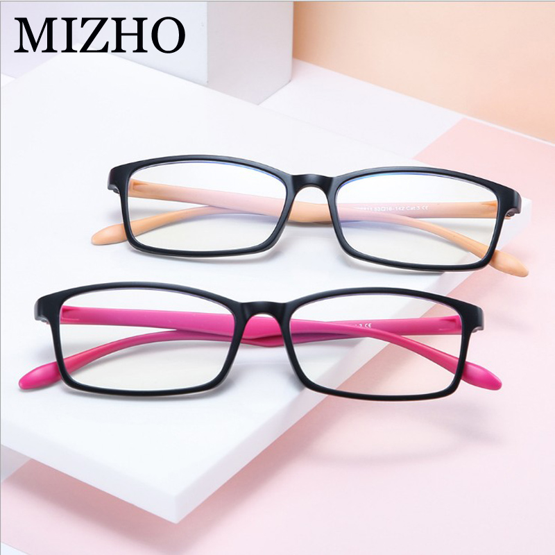 Filtering Protect Eyesight Anti Blue Light Glasses Look Phone Eyewear Student Blocking Glare Computer Glasses Women TR90 Frame