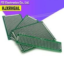 4 шт. 5x7 4x6 3x7 2x8 см двухсторонний медный Прототип pcb комплект универсальная плата для Ardui igmopnrq