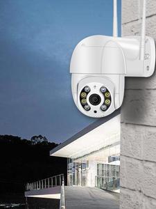 1080P PTZ Wireless IP Camera Waterproof 4X Digital Zoom Speed Dome Super Mini WiFi Security