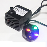 Quieten decoration water features feng shui wheel 2.5w4w micro submersible pump water pump