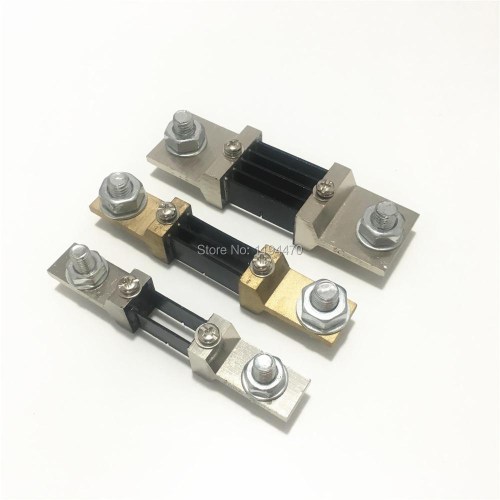 75mV Shunt Resistor FOR DC Current Meter Amp Analog Panel Ammeter 250A