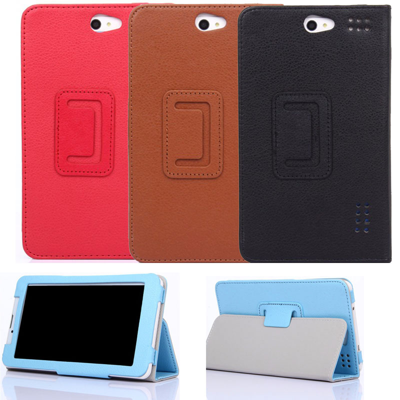 PU Leather Stand Case Cover for <font><b>DEXP</b></font> <font><b>Ursus</b></font> S169 MIX/A169/A169i/A269/KX270/K370/NS470/S370/<font><b>S270</b></font>/H170 3G 7 inch Tablet image
