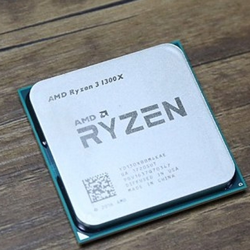 AMD Ryzen 5 1400 R5 1400 3.2 GHz Quad-Core CPU Processor YD1400BBM4KAE Socket AM4 Ryzen 3 1300X  1300X R3 1300X 3.5 GHz